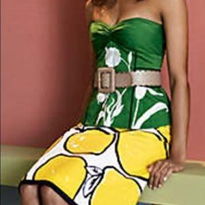Anthropologie NWOT Lemon Skirt
